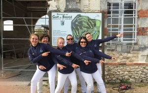 Promotion dames Golf de Bauge